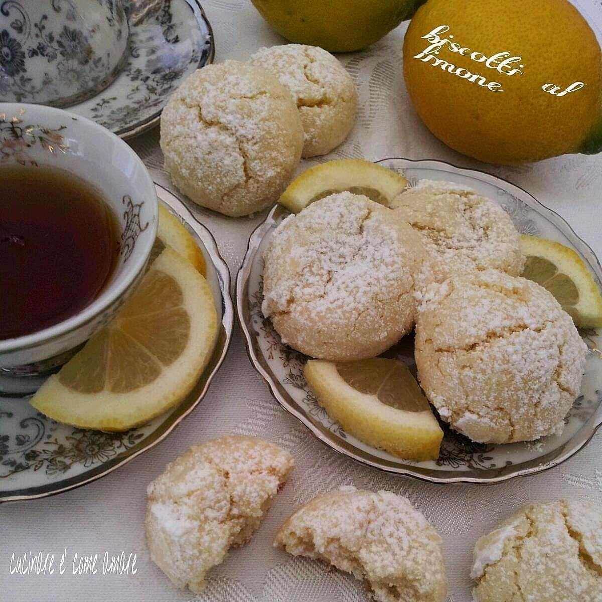 biscotto morbido limone senza burro