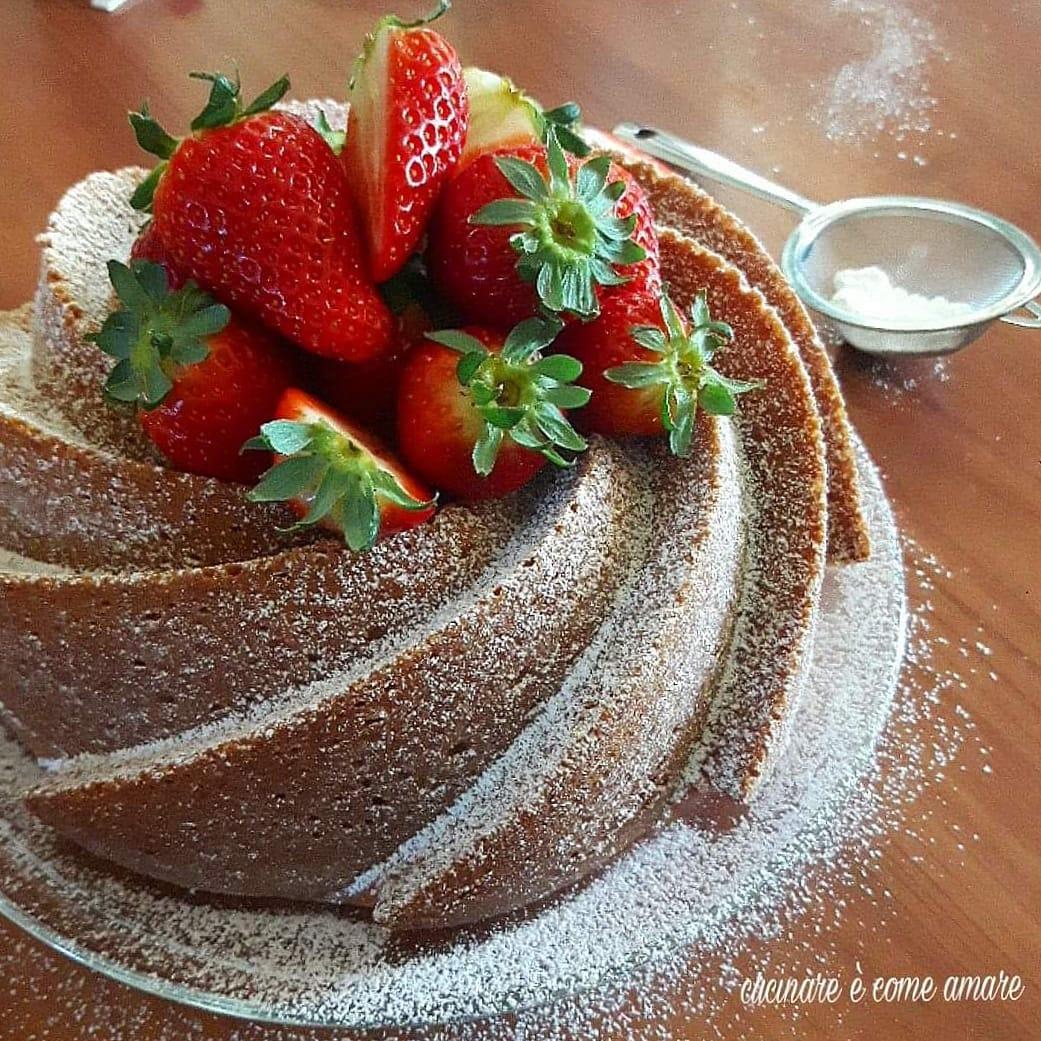 torta dolce ciambella allo yogurt