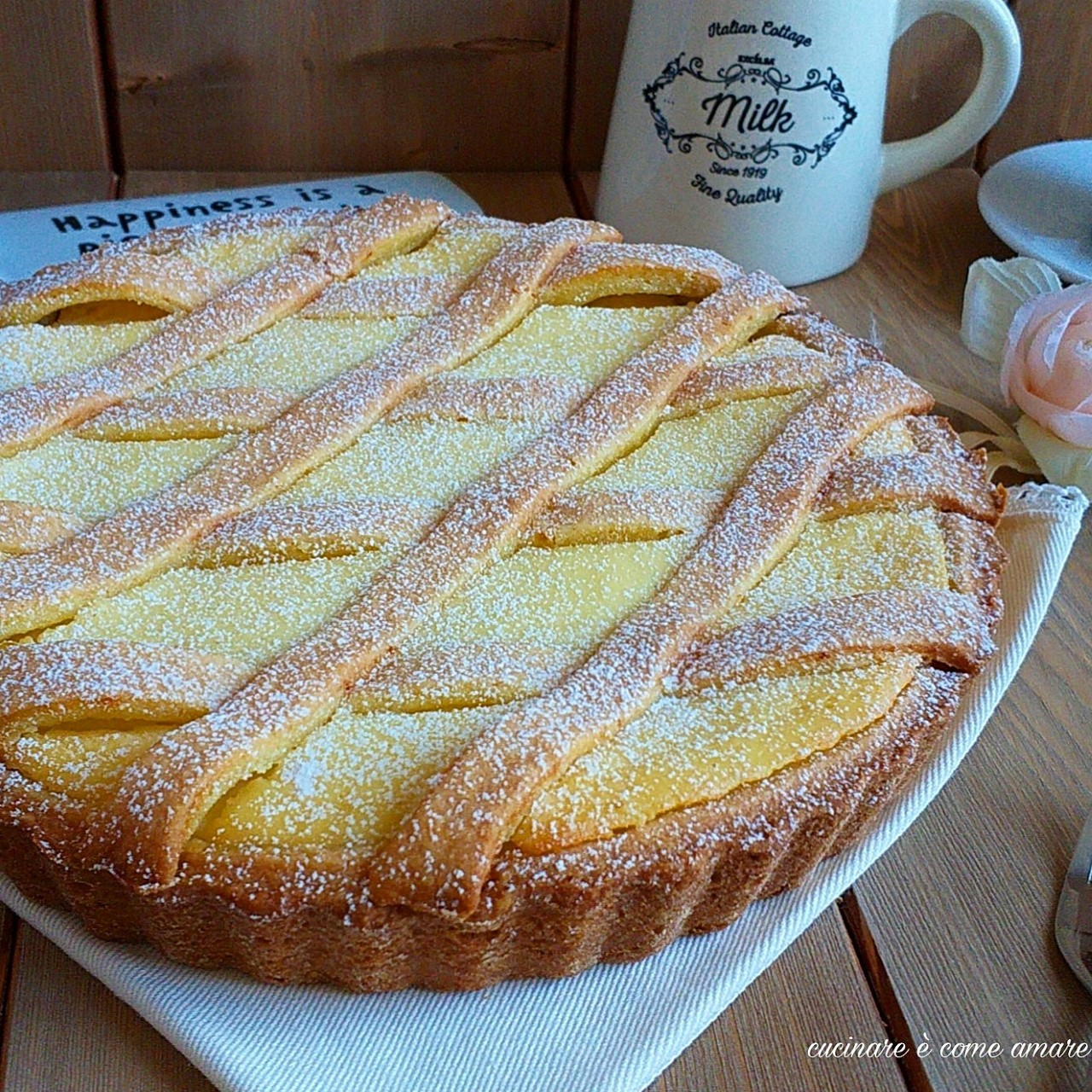 torta frollissima dolce alla ricotta