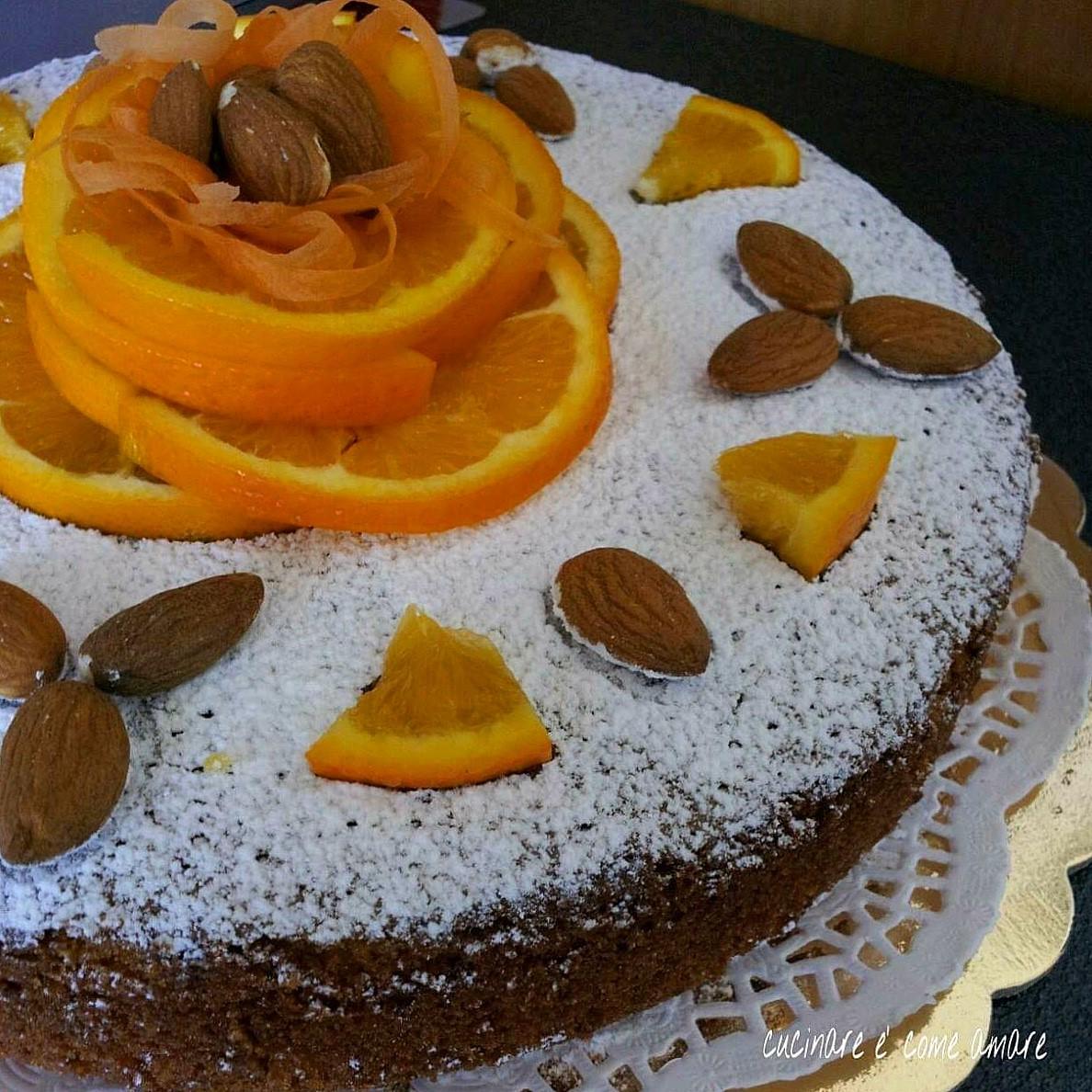 Torta mandorla carote e arancia cucinare come amare for Cucinare carote