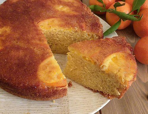 TORTA PAN MANDARINO dolce senza burro