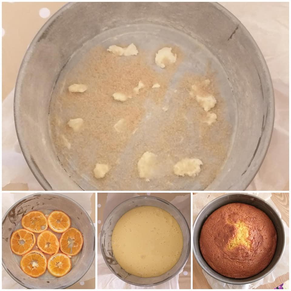 torta pan mandarino
