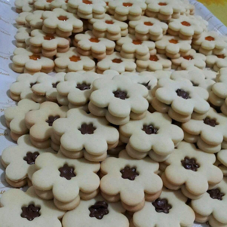 biscotto buffet ripieno marmellata nutella