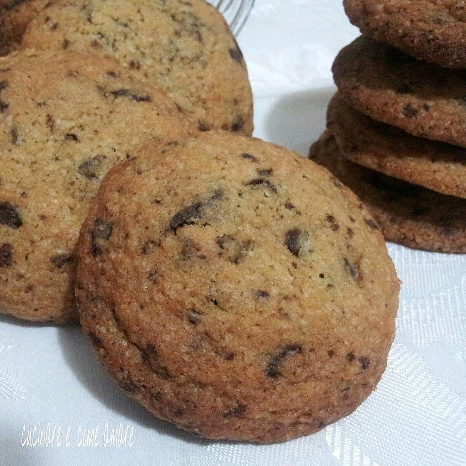 biscotto cioccolato caffe' senza burro