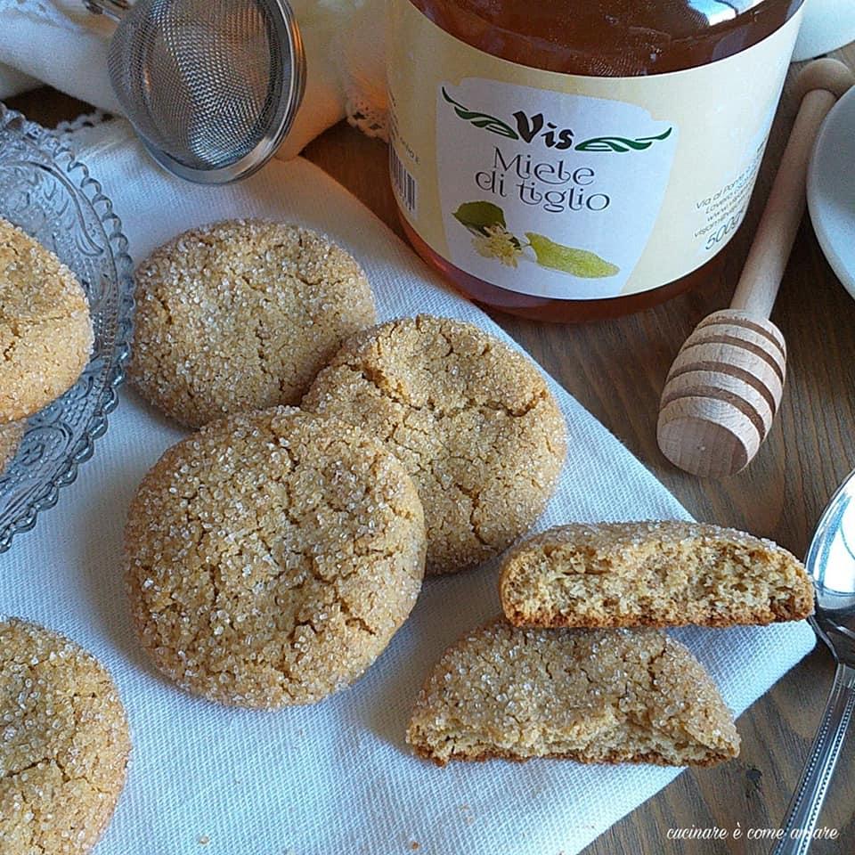 biscotto miele integrale da inzuppo