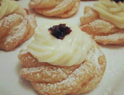 IMPASTO ZEPPOLE FRITTE dolce ricetta