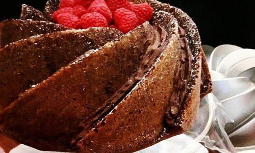 TORTA RAFFINATA cioccolato e NUTELLA