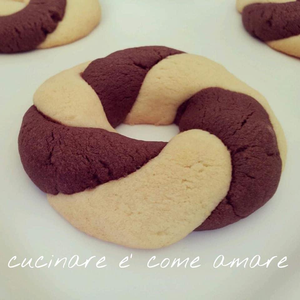 biscotto ciambellina bigusto con cacao