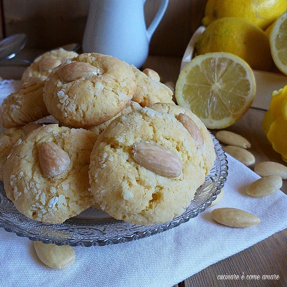 biscotto morbidello mandorla e limone