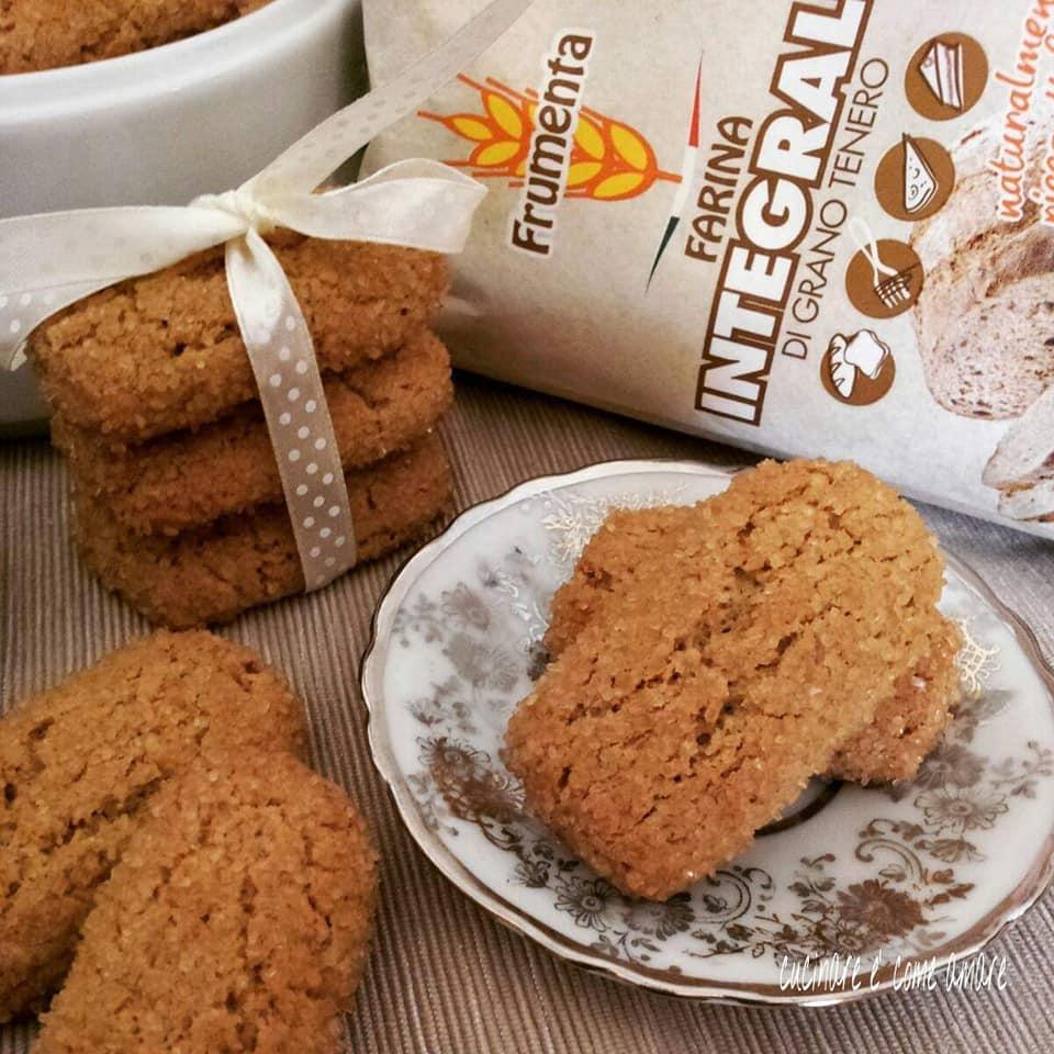 biscotto rustico con farina integrale