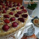 CROSTATA TORTA DOLCE crema e fragole