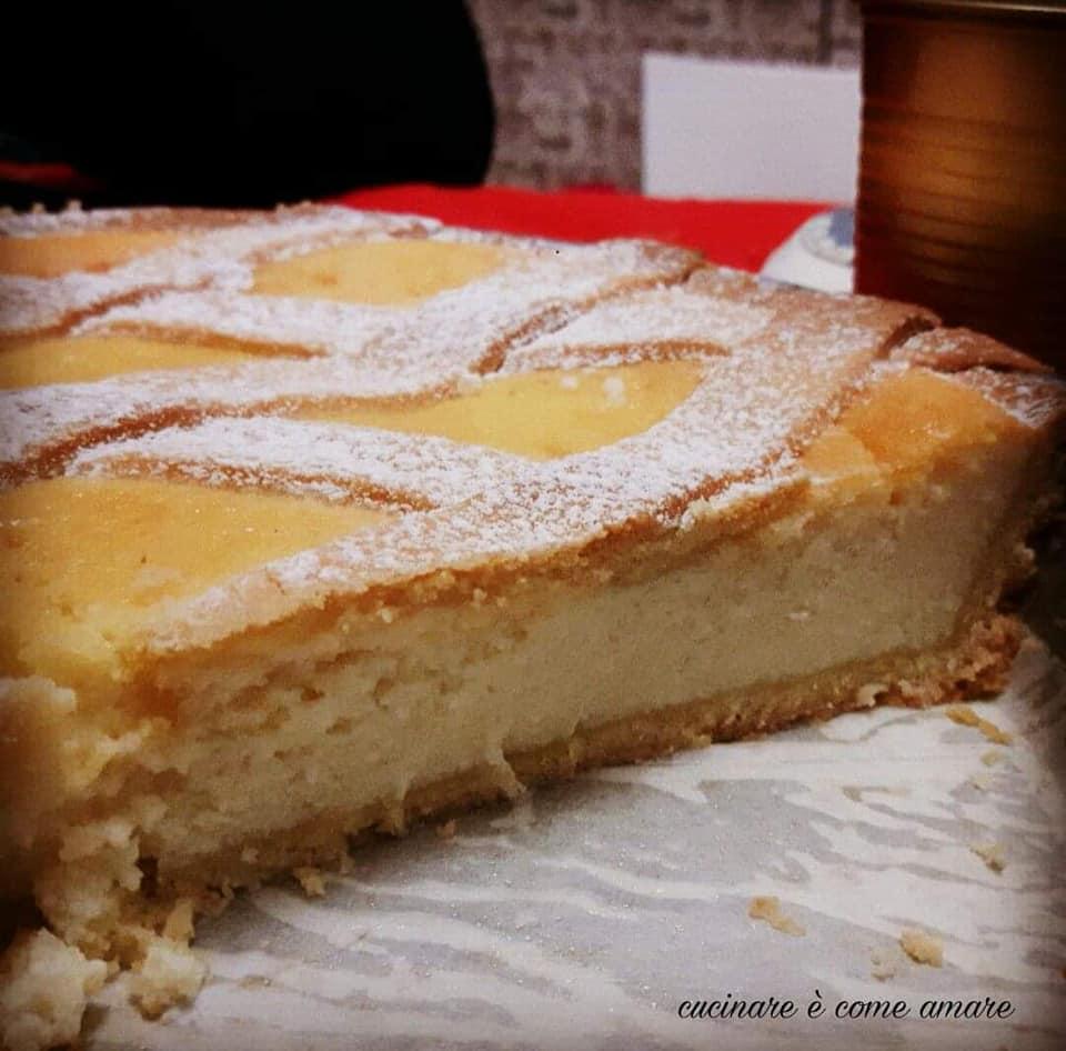torta pastiera napoletana senza canditi
