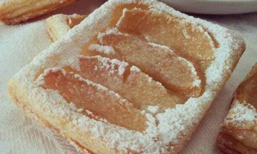 DOLCE SFOGLIATELLA crema e mela