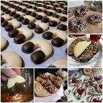 BISCOTTO RACCOLTA CON GLASSA cioccolato