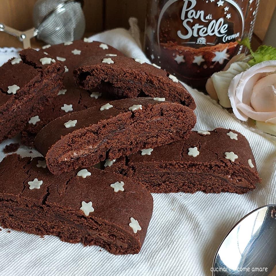 biscotto rotolo cacao panstelle ripieno