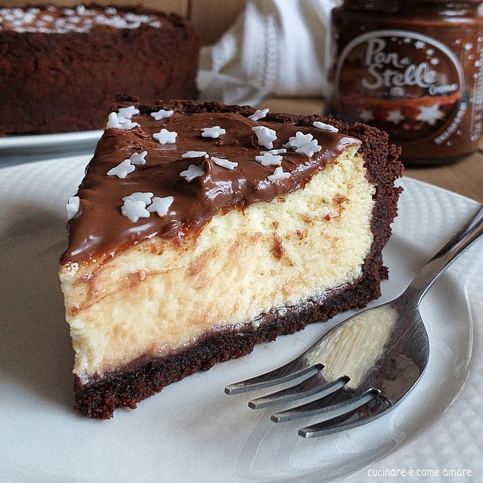 dolce cheesecake panstelle con ricotta