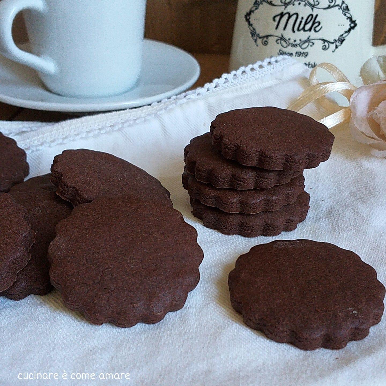 dolce impasto cacao per biscotto