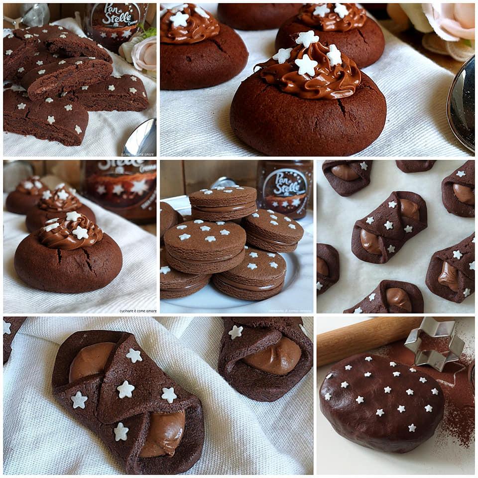 dolce impasto panstelle per biscotti