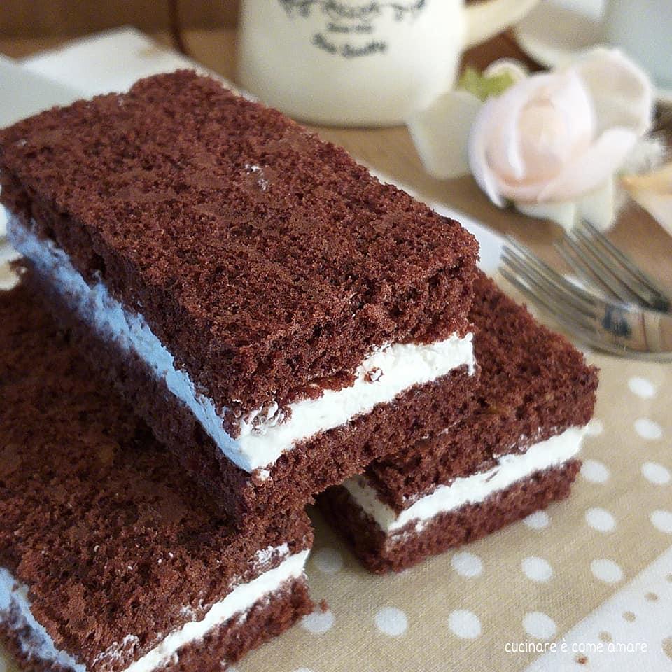 torta dolce furbissima al cacao con ripieno