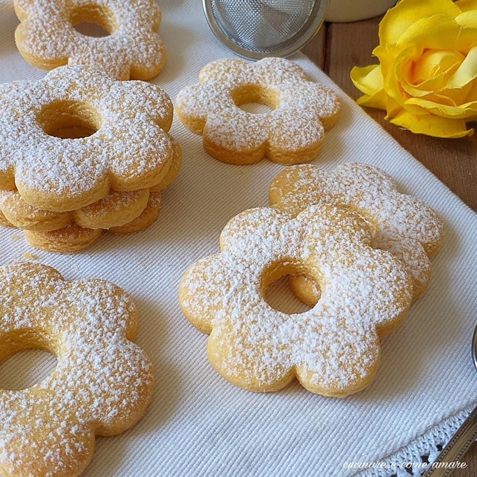 biscotto canestrelli con farina di mais