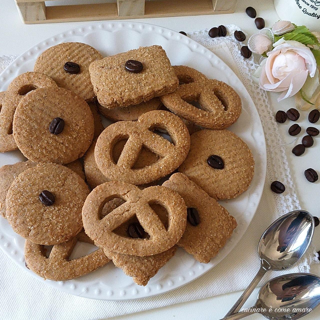 biscotto danese al caffe' ricetta facile