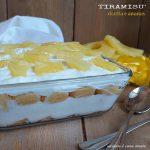 TIRAMISU' DOLCE FRESCO ananas yogurt ricotta