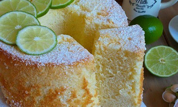 TORTA DOLCE CHIFFON CAKE al lime