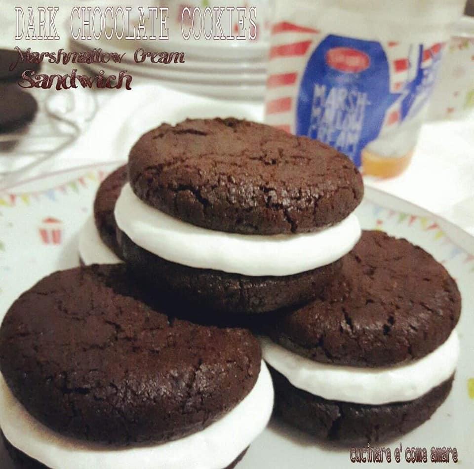 biscotto cookies cacao con ripieno