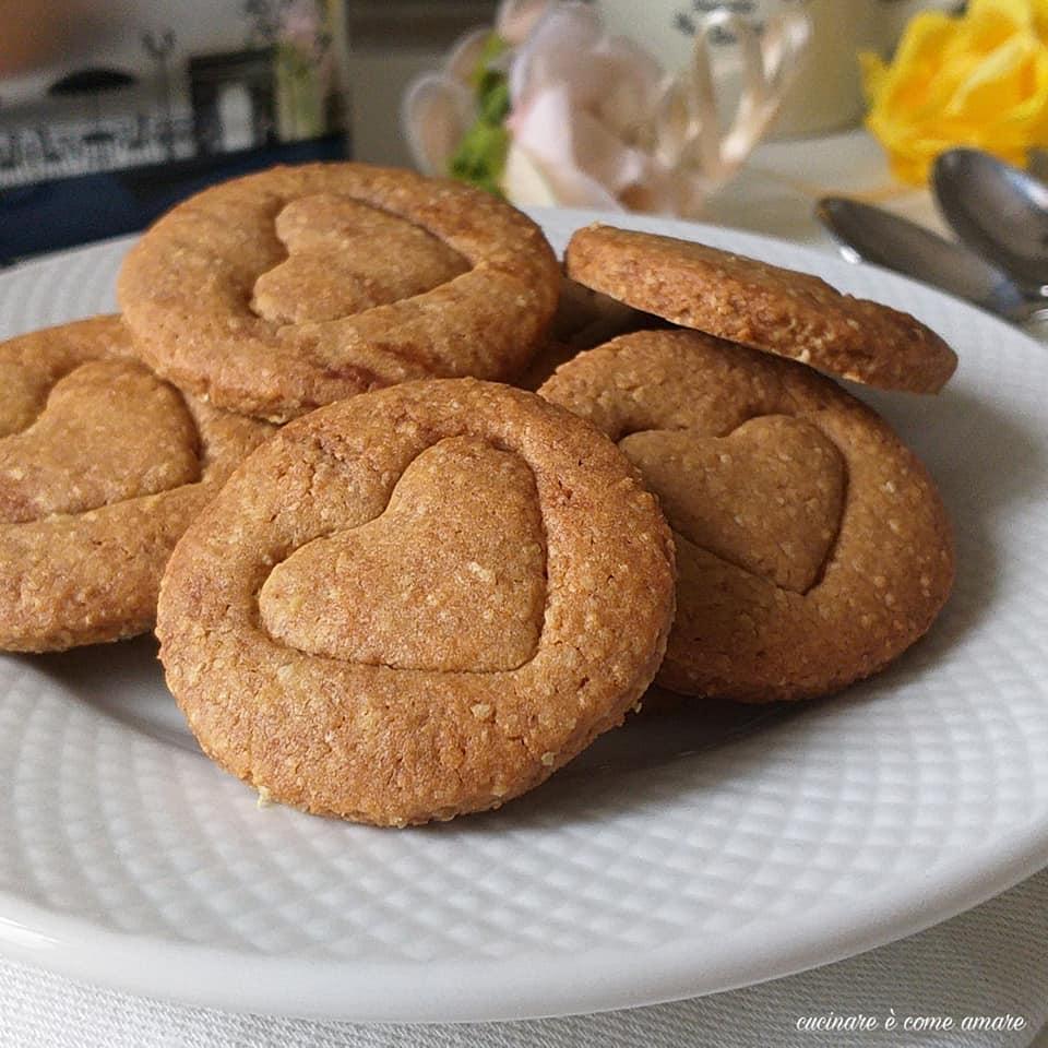 biscotto cuor cereale ricetta facile