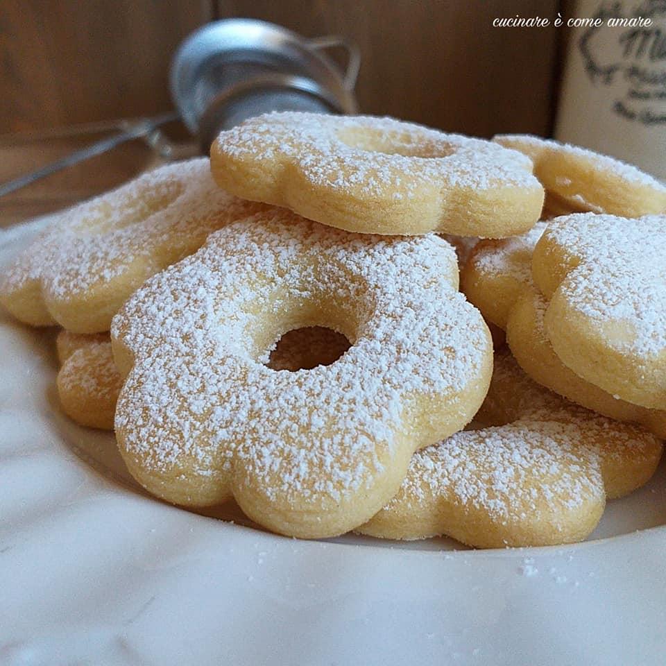 biscotto facile canestrelli ricetta veloce