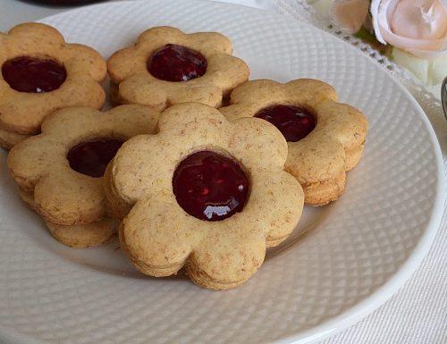 BISCOTTO FROLLINO INTEGRALE ripieno marmellata
