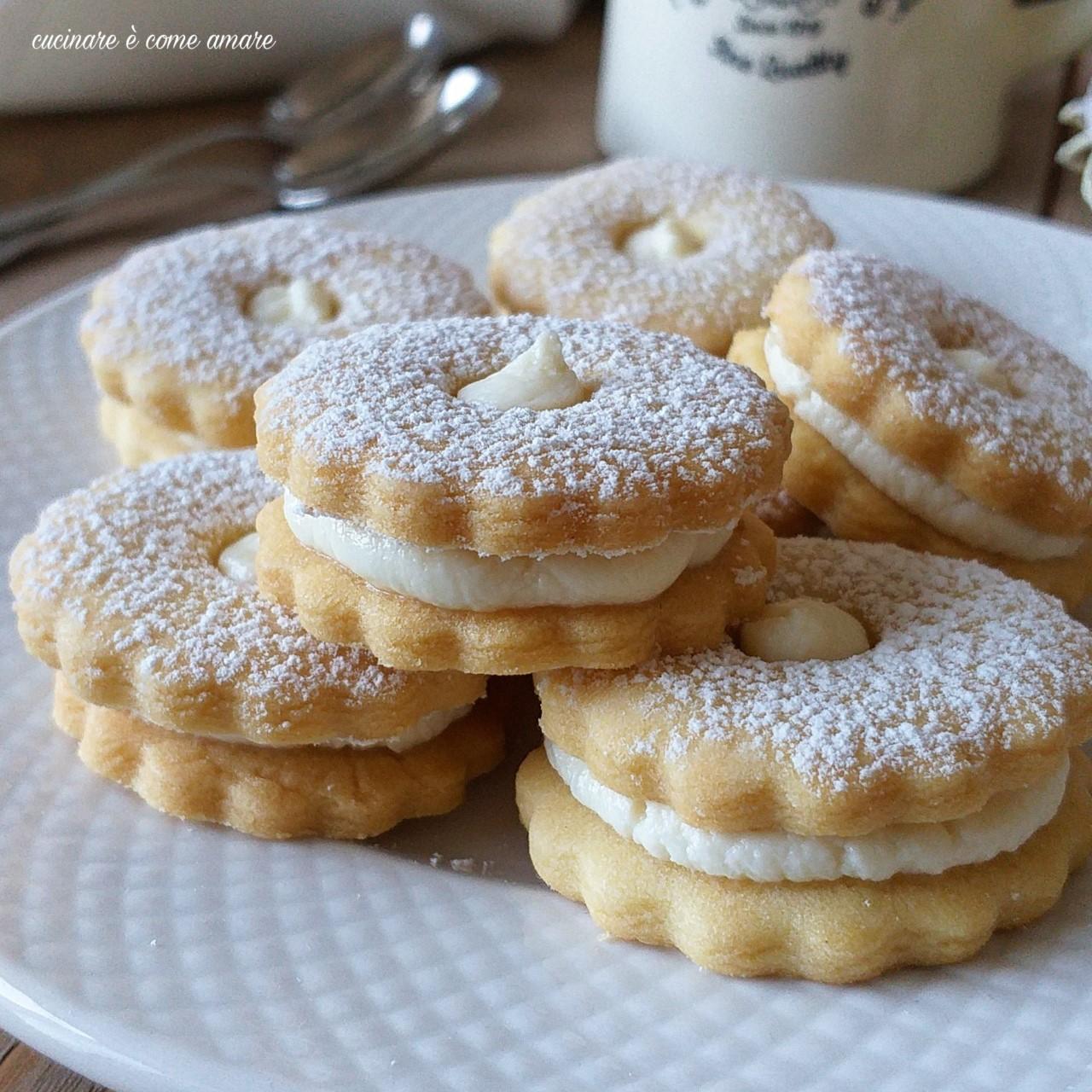 biscotto occhidibue paradiso ripieno crema latte