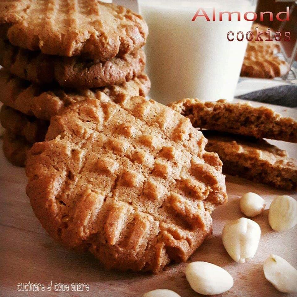 biscotto veloce alla mandorla dolce facile