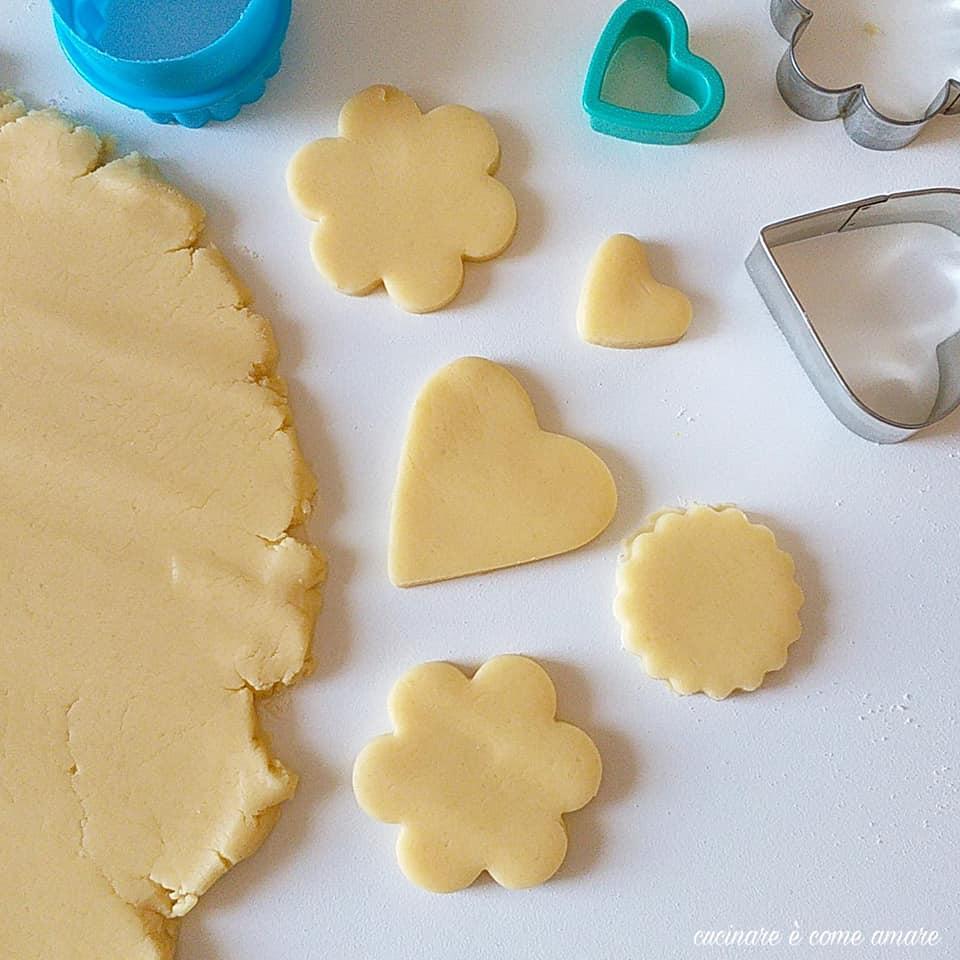 impasto biscotti dolce frolla perfetta