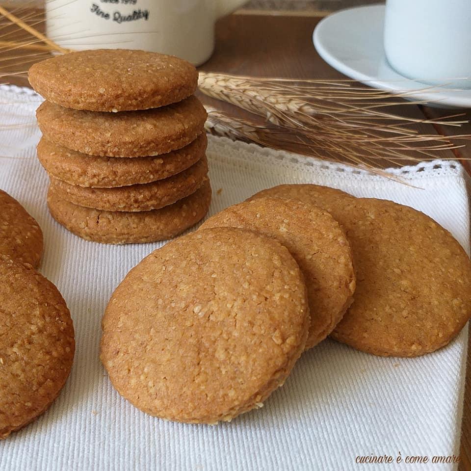impasto biscotto integrale dolce colazione