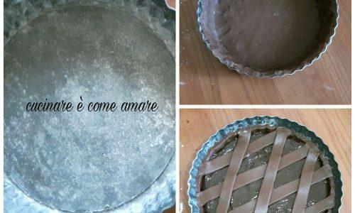 IMPASTO DOLCE CROSTATA CACAO e cioccolato