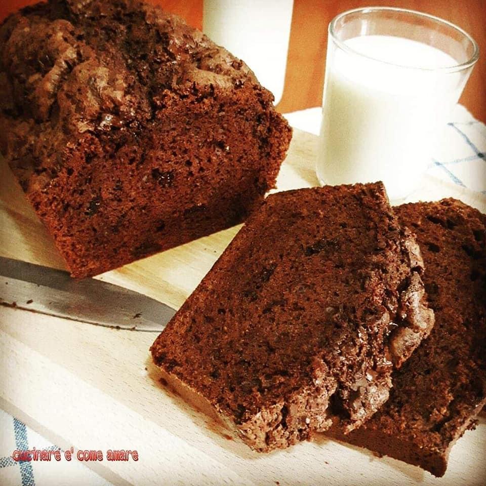 impasto dolce plumcake al cacao