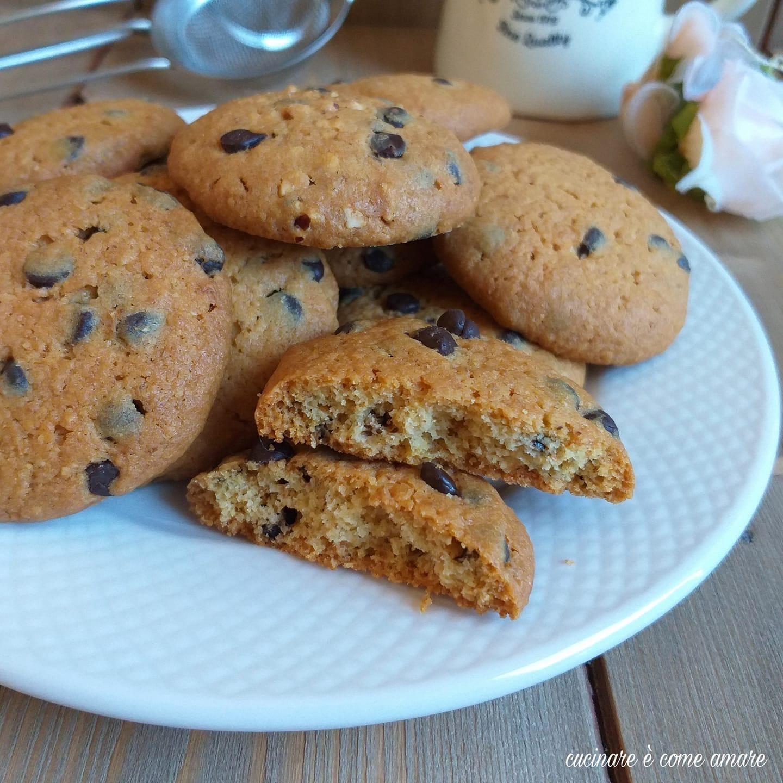 biscotto ciocco inzuppo dolce ricetta