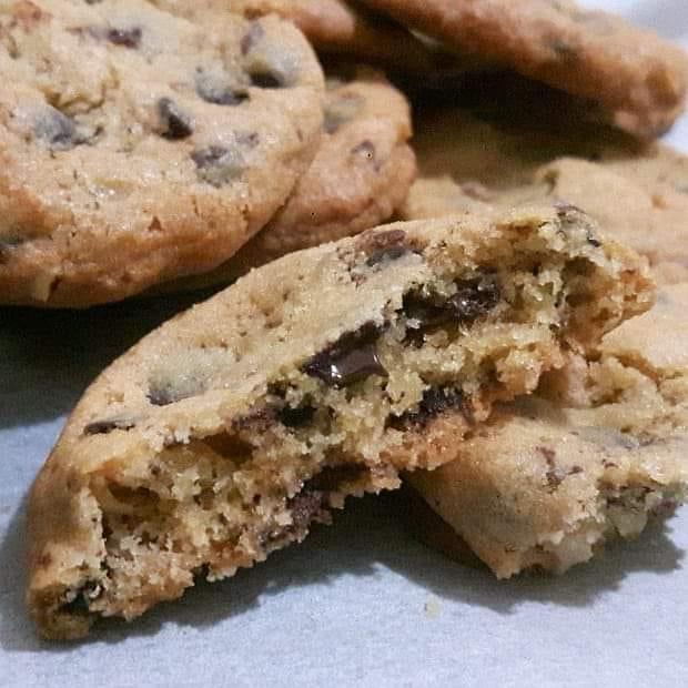 biscotto cookies 5 minuti con cioccolato