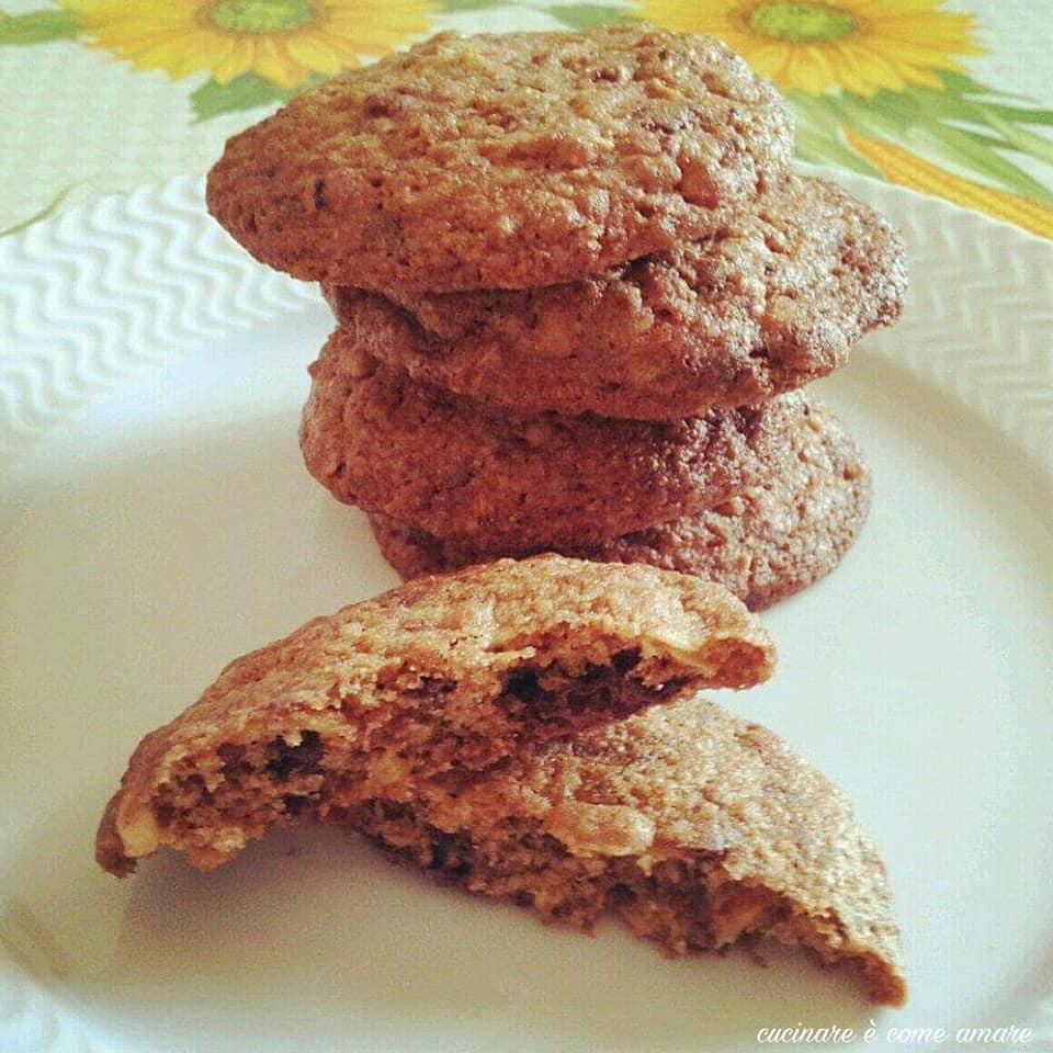 biscotto cookies caffe' e cioccolato
