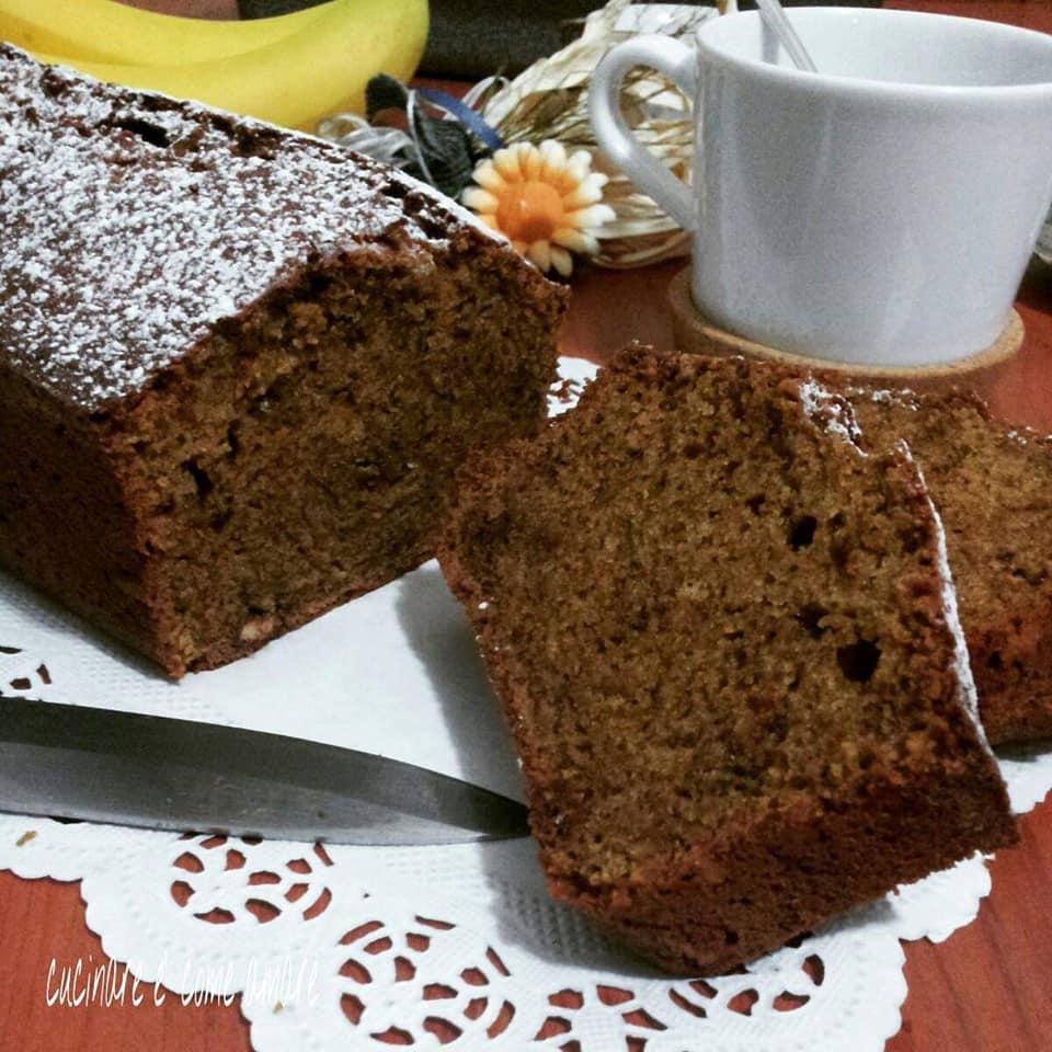 dolce plumcake integrale al caffe'