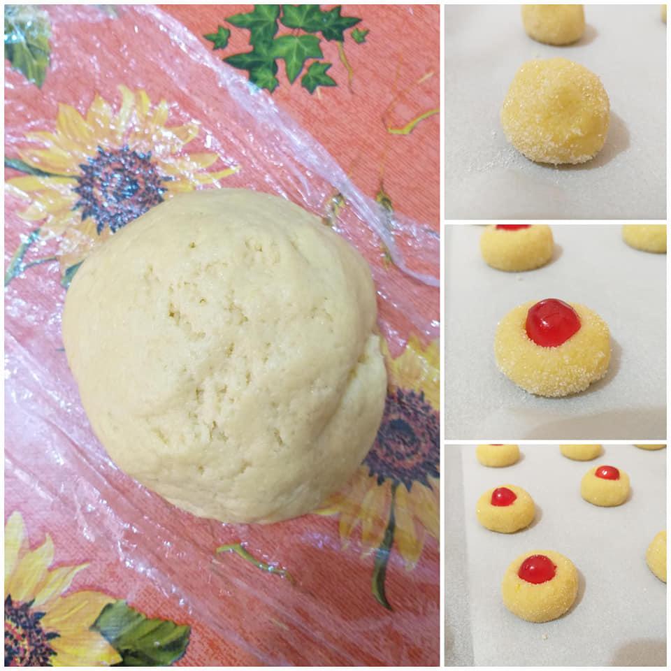 impasto biscotto dolcetto alla mandorla