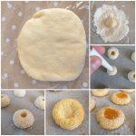 IMPASTO DOLCE FROLLA COCCO e marmellata per biscotti