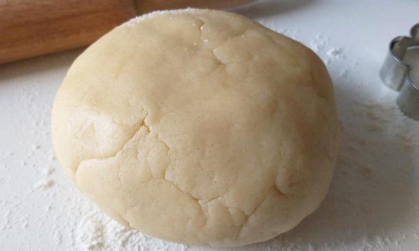 IMPASTO DOLCE SENZA UOVA frolla per biscotti