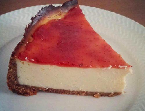 TORTA CHEESECAKE GOLOSA ricotta marmellata