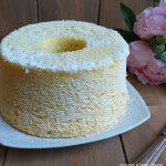 TORTA CHIFFON CAKE CLASSICA dolce morbido