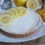 TORTA DOLCE FROLLA CON RIPIENO crema limone