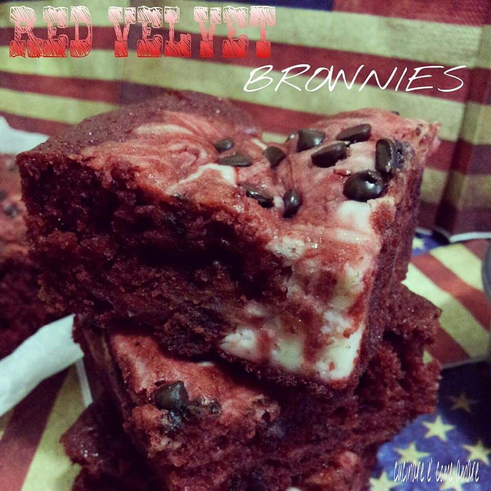 torta quadrotto red velvet con ricotta