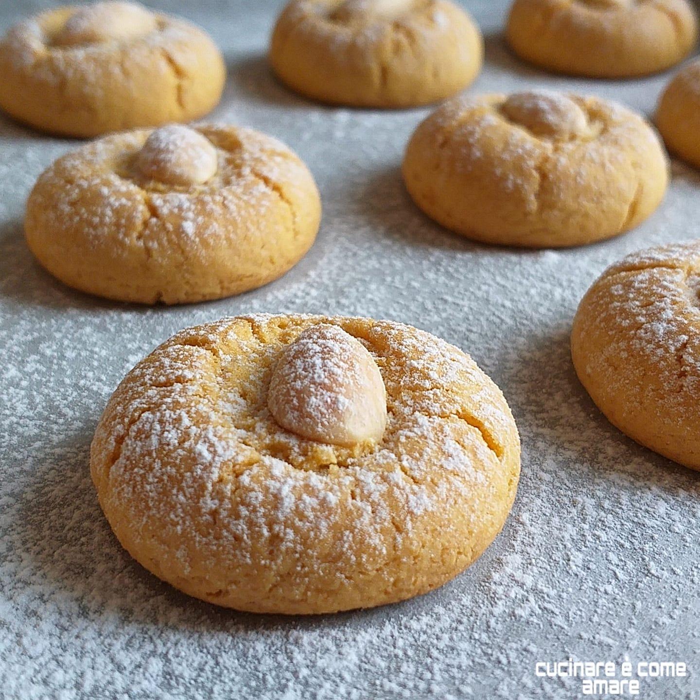 biscotto dolce mandorlotto ricetta facile