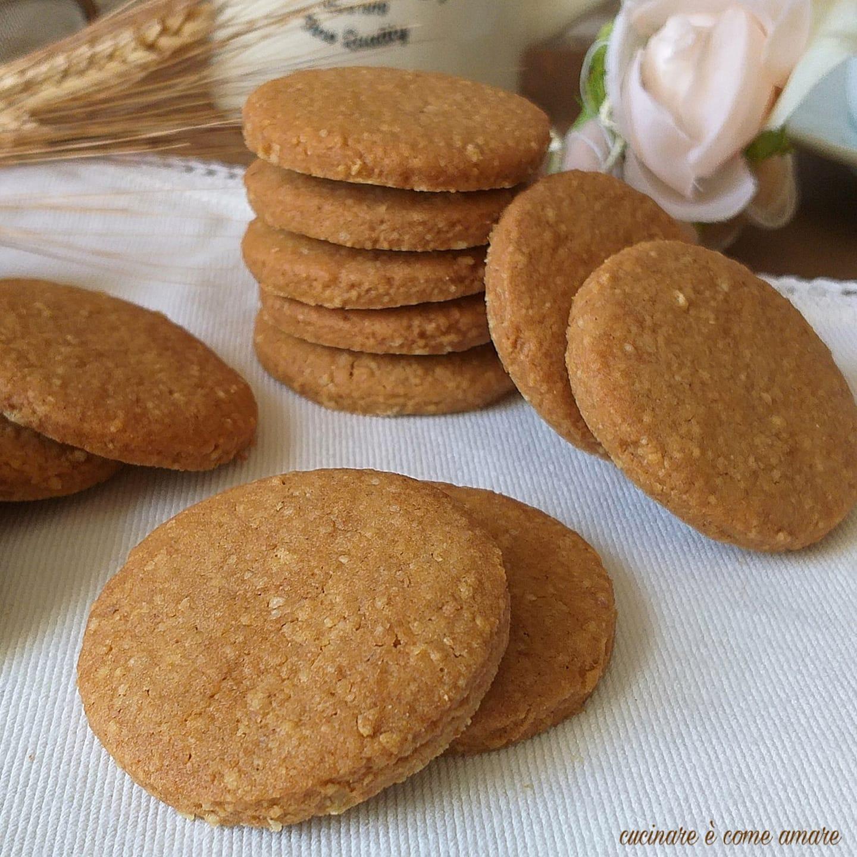 biscotto dolce multicereali ricetta facile